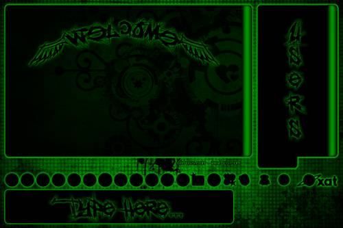 Background Xat Green