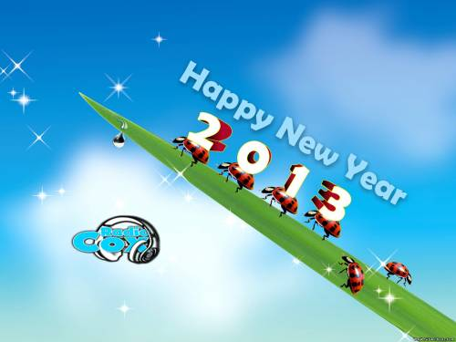 happy new year 2013 wallpaper